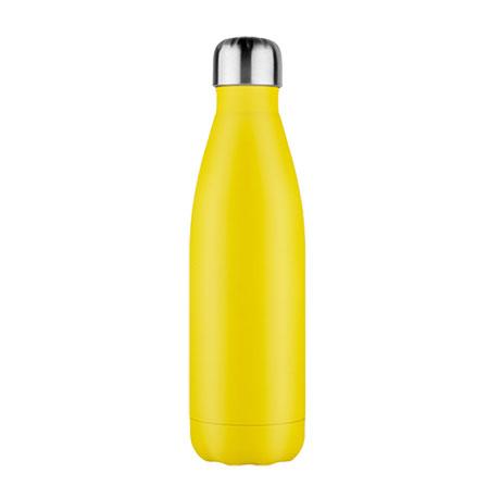geel rvs aluminium drinkfles